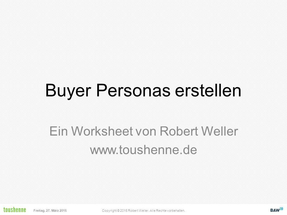 Buyer Personas erstellen
