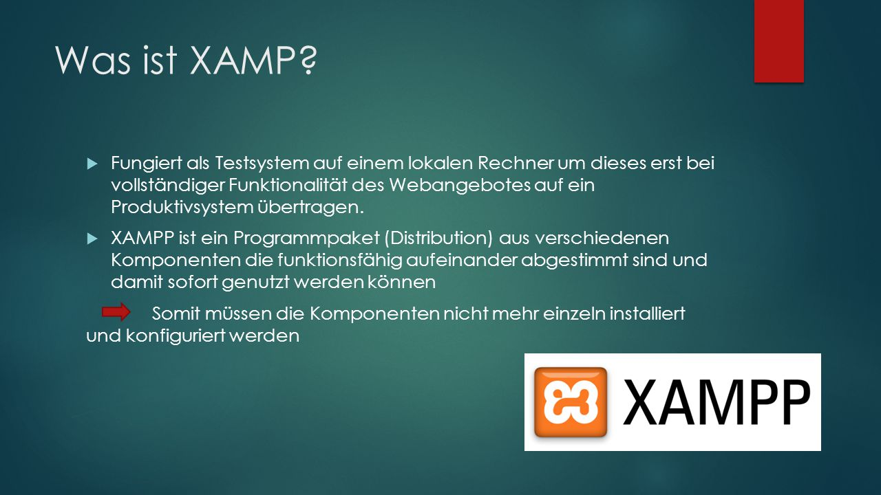 Was ist XAMP