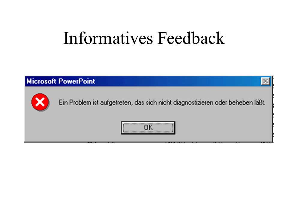 Informatives Feedback