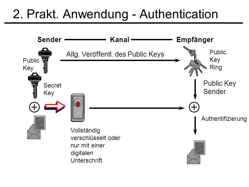 2. Prakt. Anwendung - Authentication