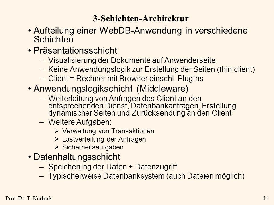 3-Schichten-Architektur