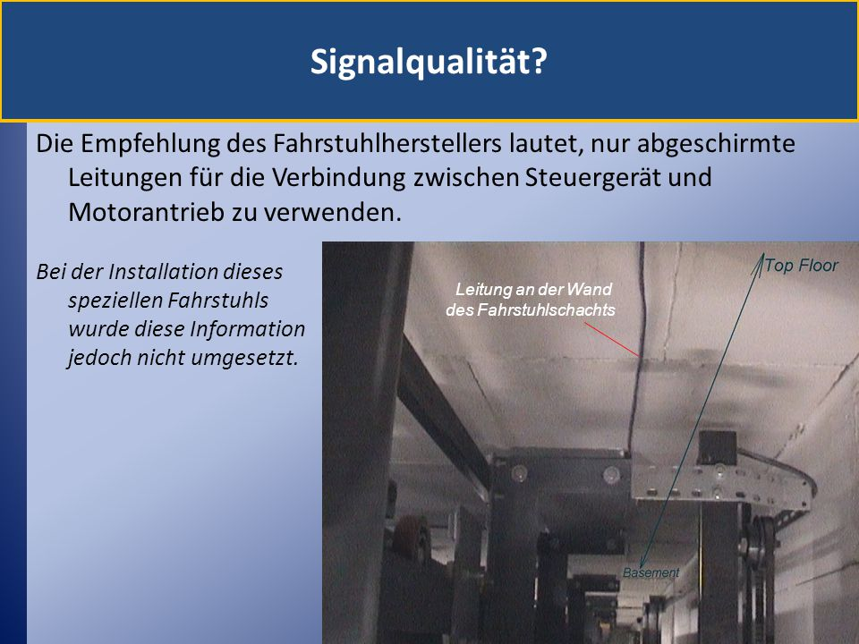 Signalqualität
