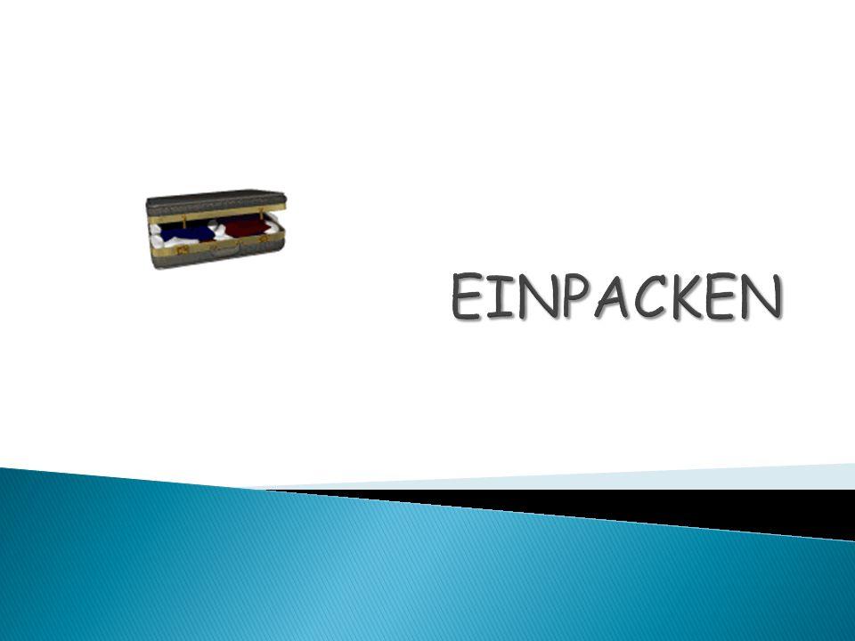 EINPACKEN