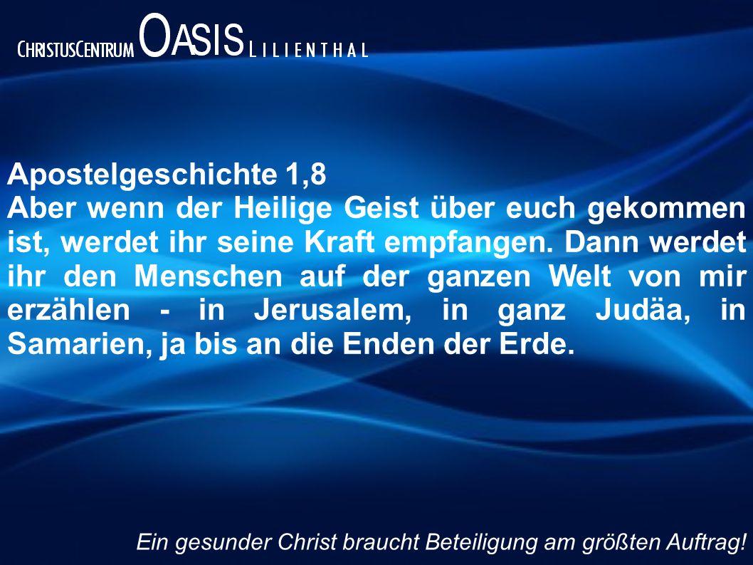 Apostelgeschichte 1,8