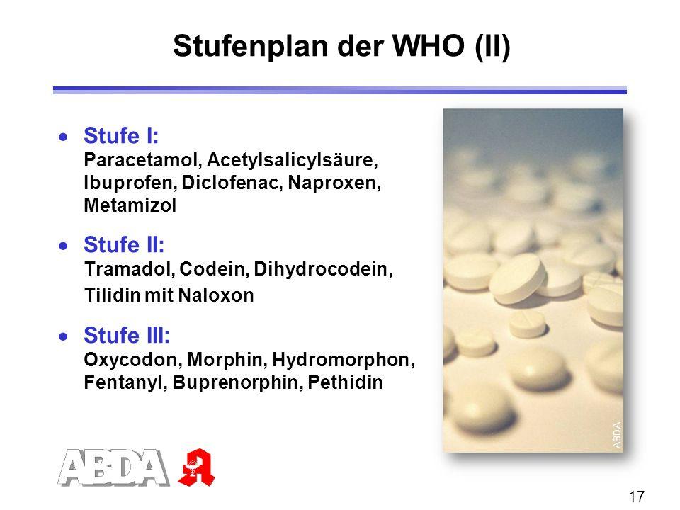 Stufenplan der WHO (II)