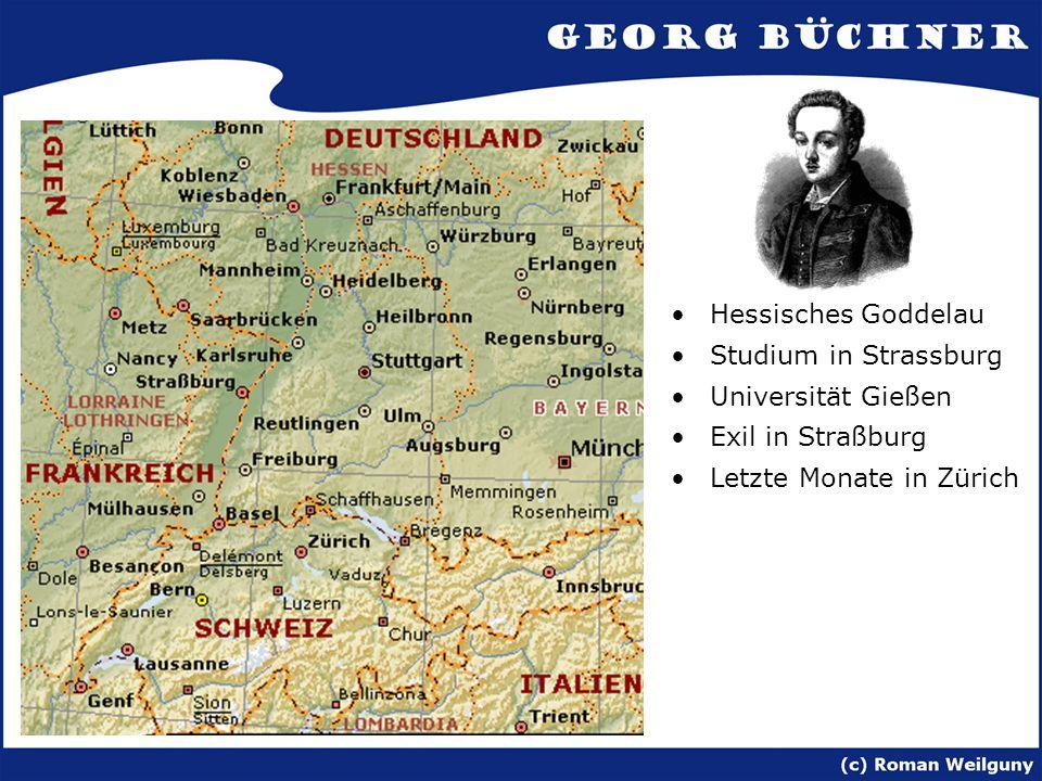 Hessisches Goddelau Studium in Strassburg. Universität Gießen.