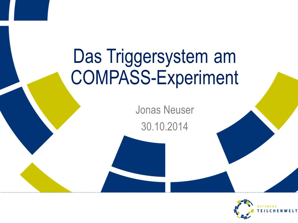 Das Triggersystem am COMPASS-Experiment