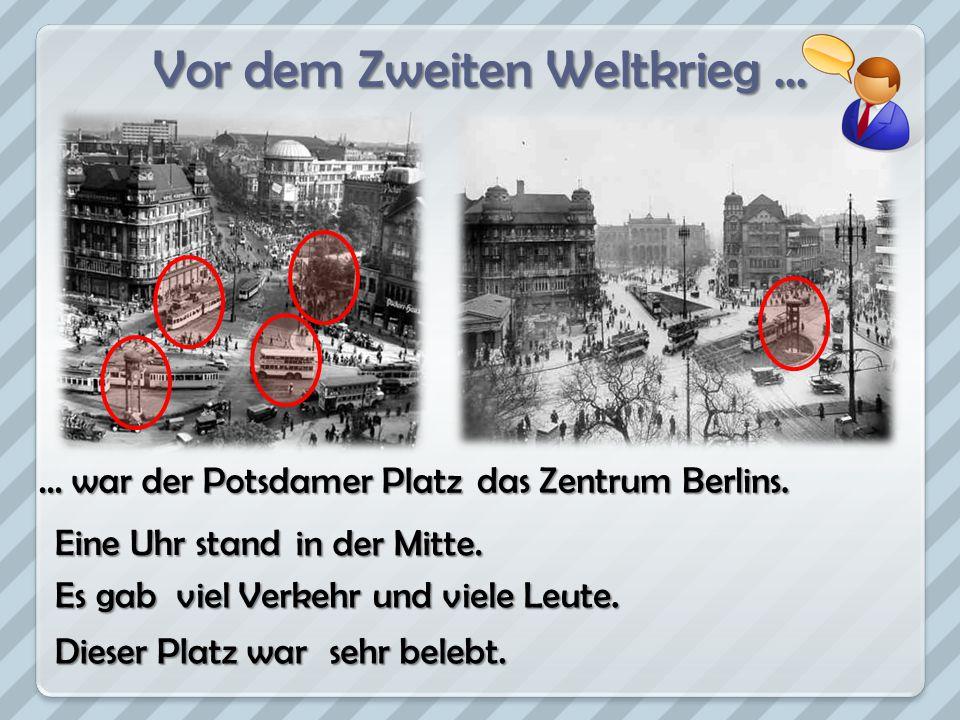 Vor dem Zweiten Weltkrieg ...