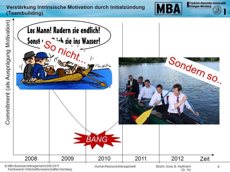 So nicht... Sondern so.. BANG 2008 2009 2010 2011 2012