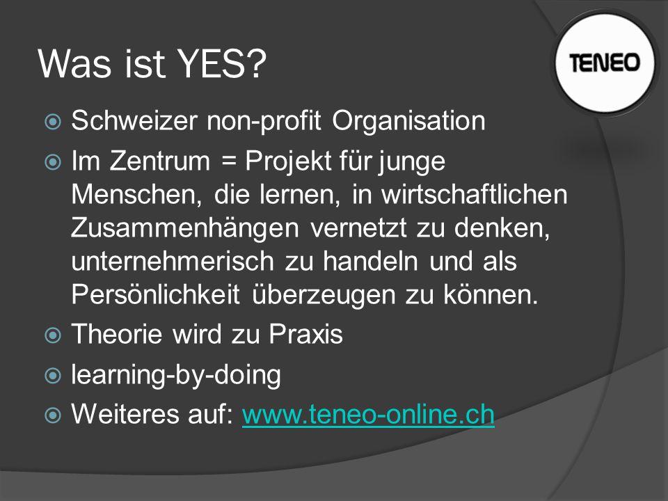 Was ist YES Schweizer non-profit Organisation
