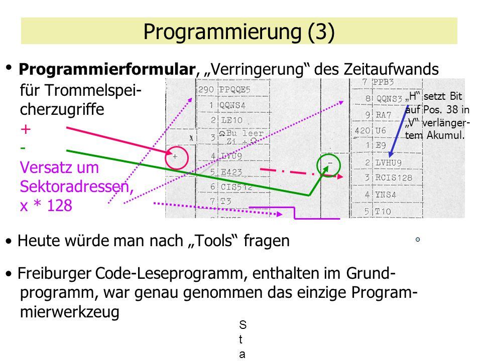 Programmierung (3)