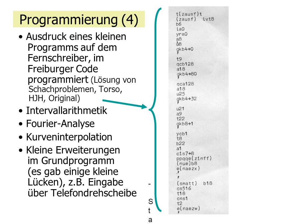 Programmierung (4)