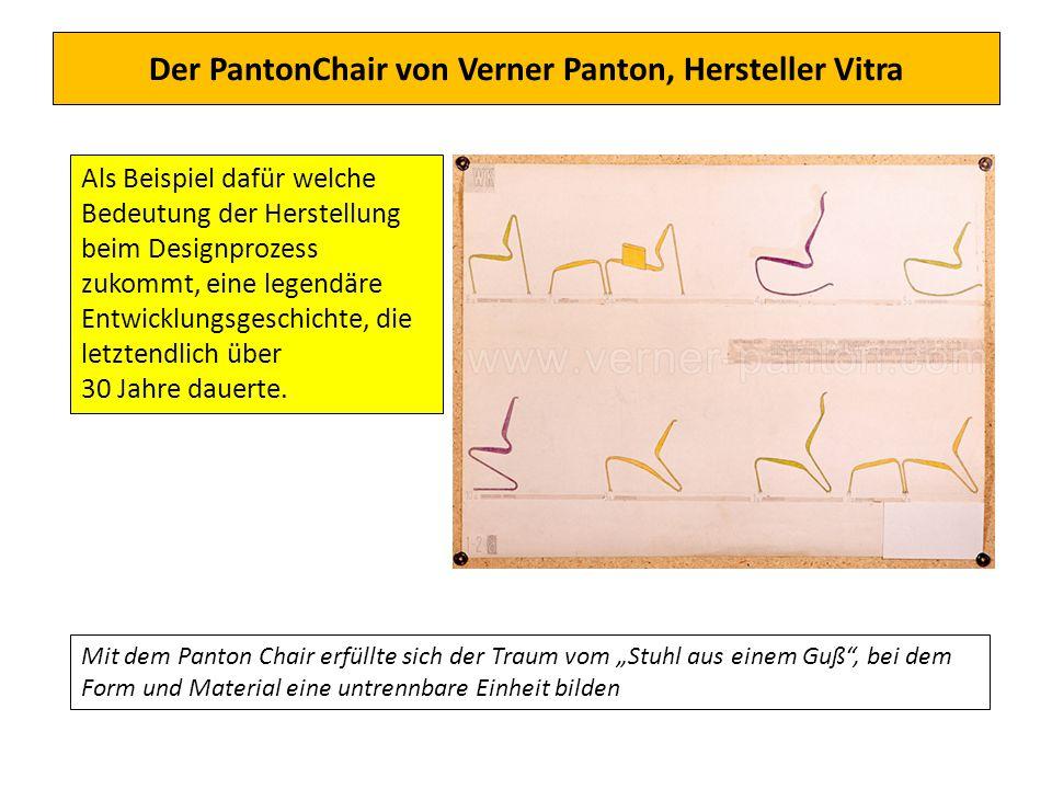 Der PantonChair von Verner Panton, Hersteller Vitra