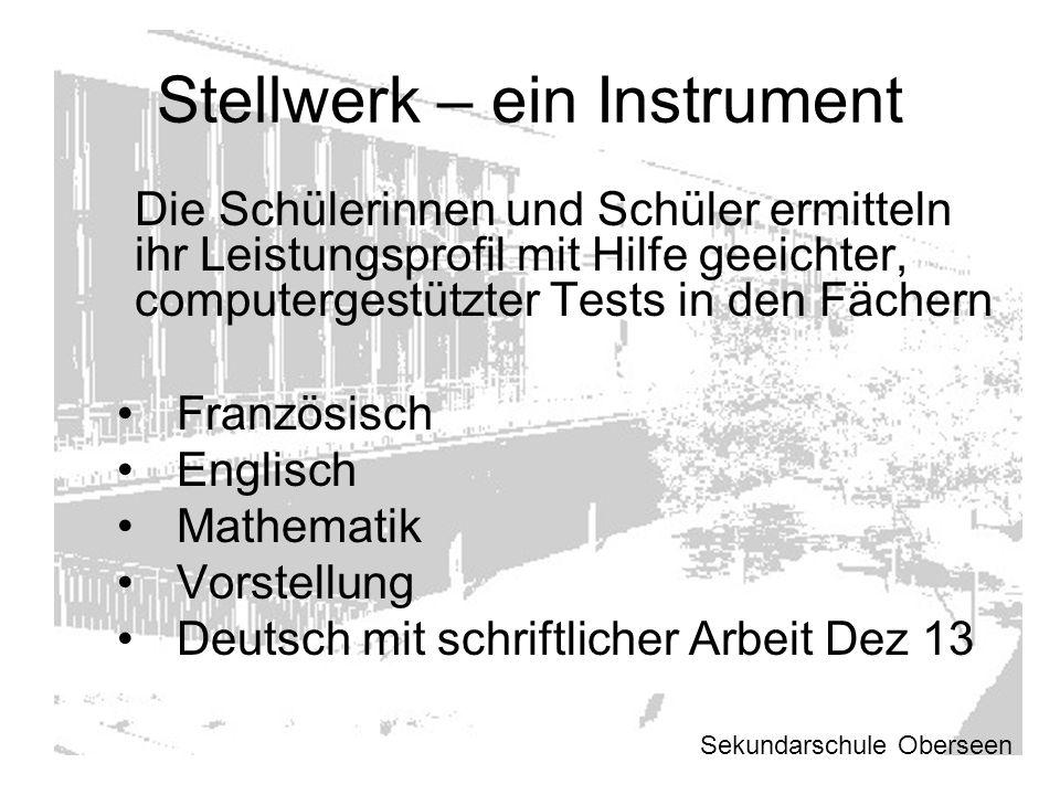 Stellwerk – ein Instrument