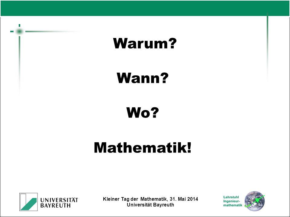 Warum Wann Wo Mathematik!