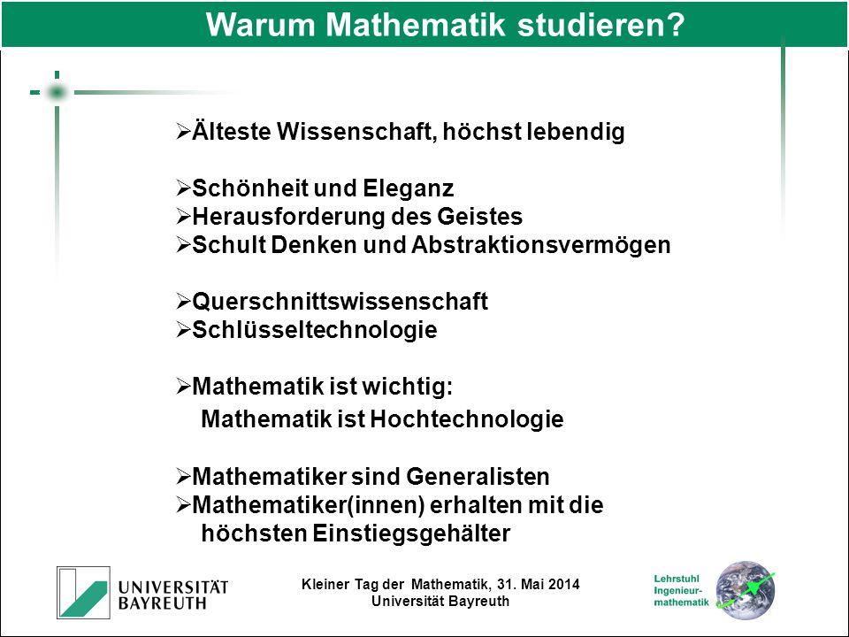 Warum Mathematik studieren