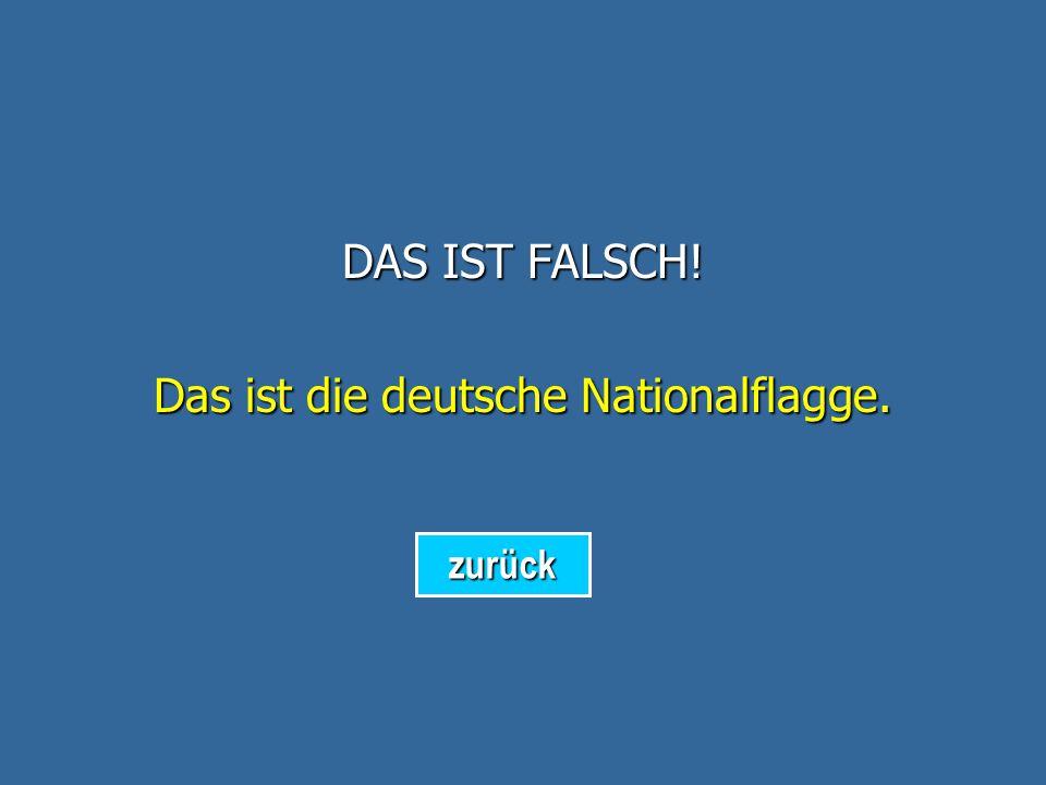 Das ist die deutsche Nationalflagge.