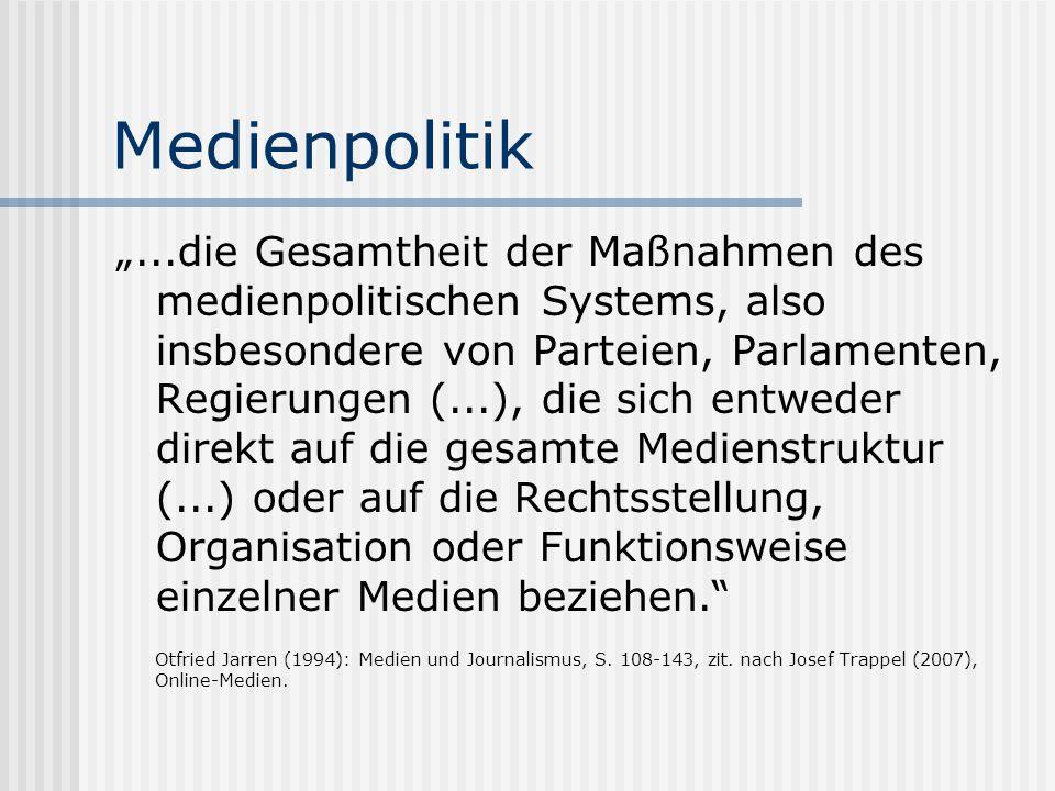 Medienpolitik