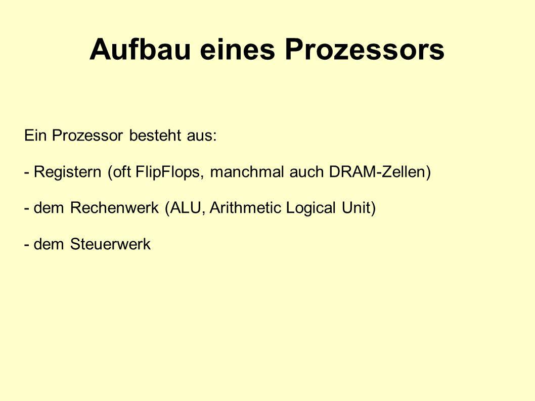 Aufbau eines Prozessors