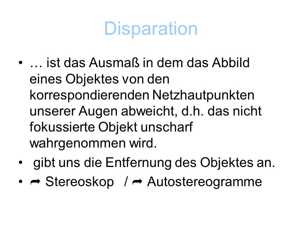 Disparation