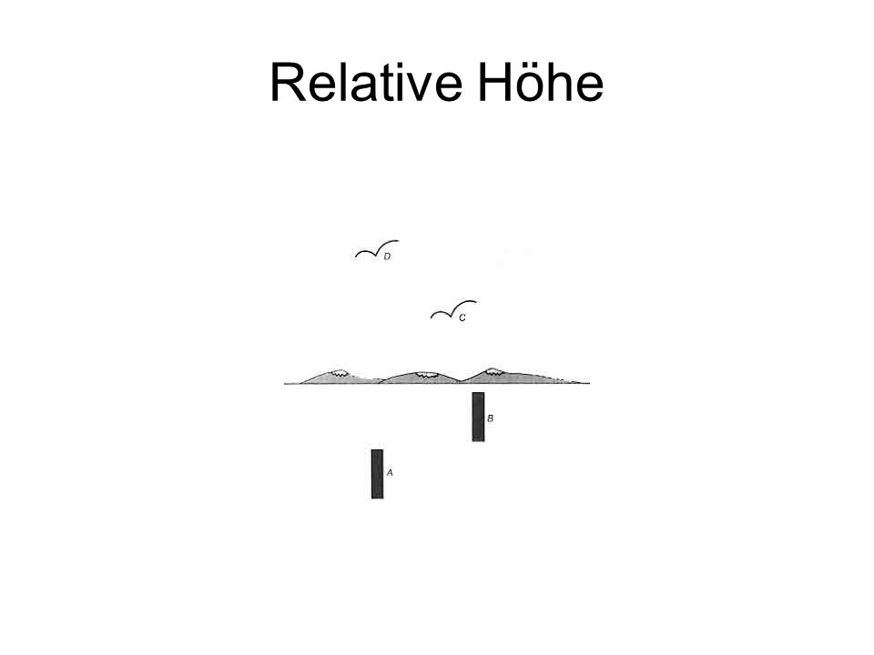 Relative Höhe
