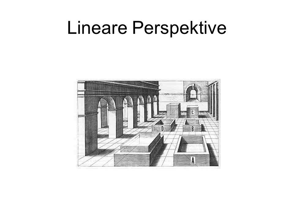 Lineare Perspektive