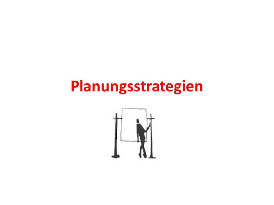 Planungsstrategien
