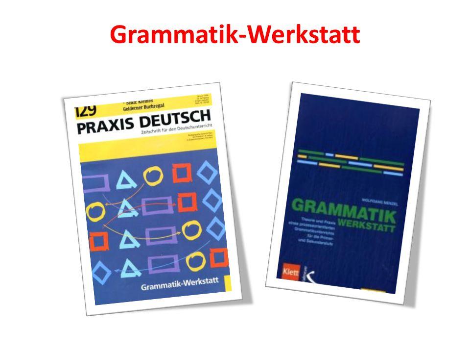 Grammatik-Werkstatt