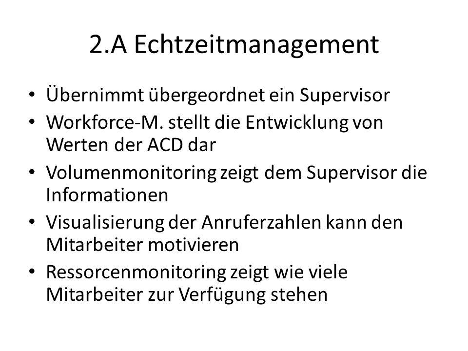 2.A Echtzeitmanagement Übernimmt übergeordnet ein Supervisor