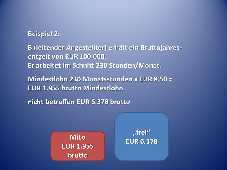 """""""frei EUR 6.378 MiLo EUR 1.955 brutto"""