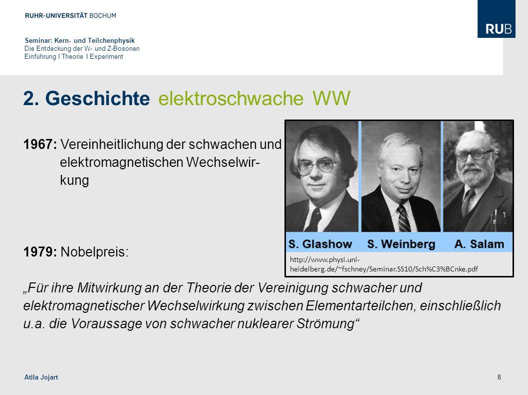 2. Geschichte elektroschwache WW