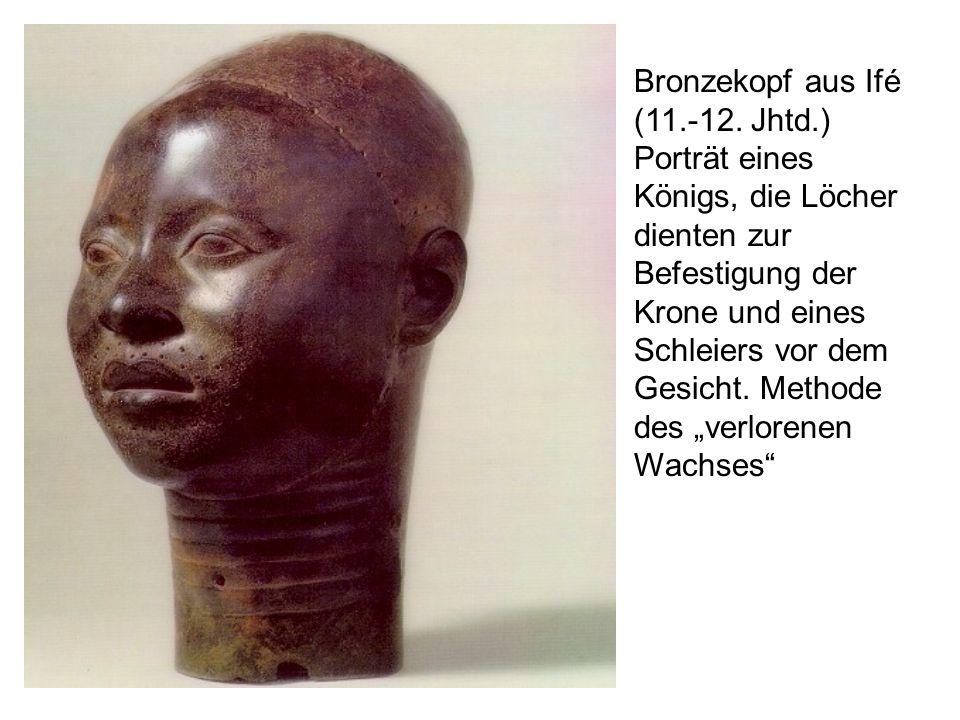 Bronzekopf aus Ifé (11. -12. Jhtd
