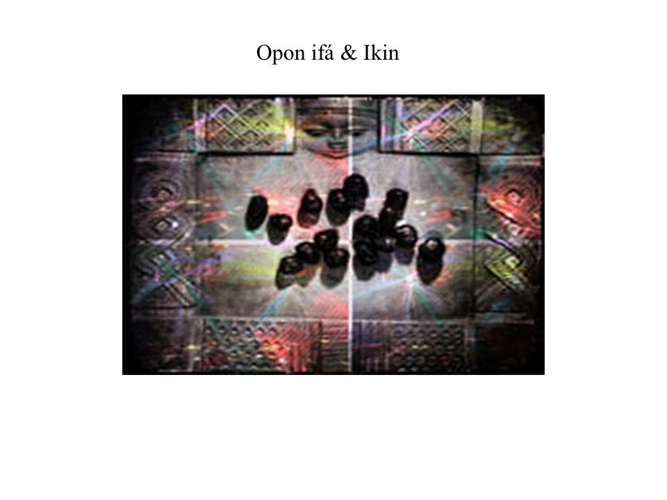 Opon ifá & Ikin