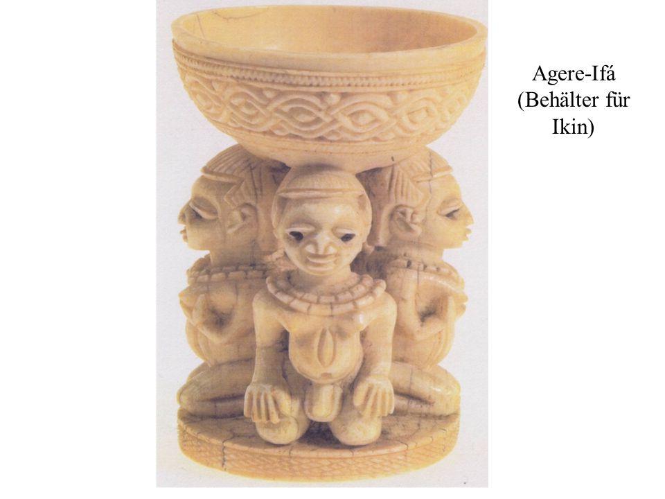 Agere-Ifá (Behälter für Ikin)