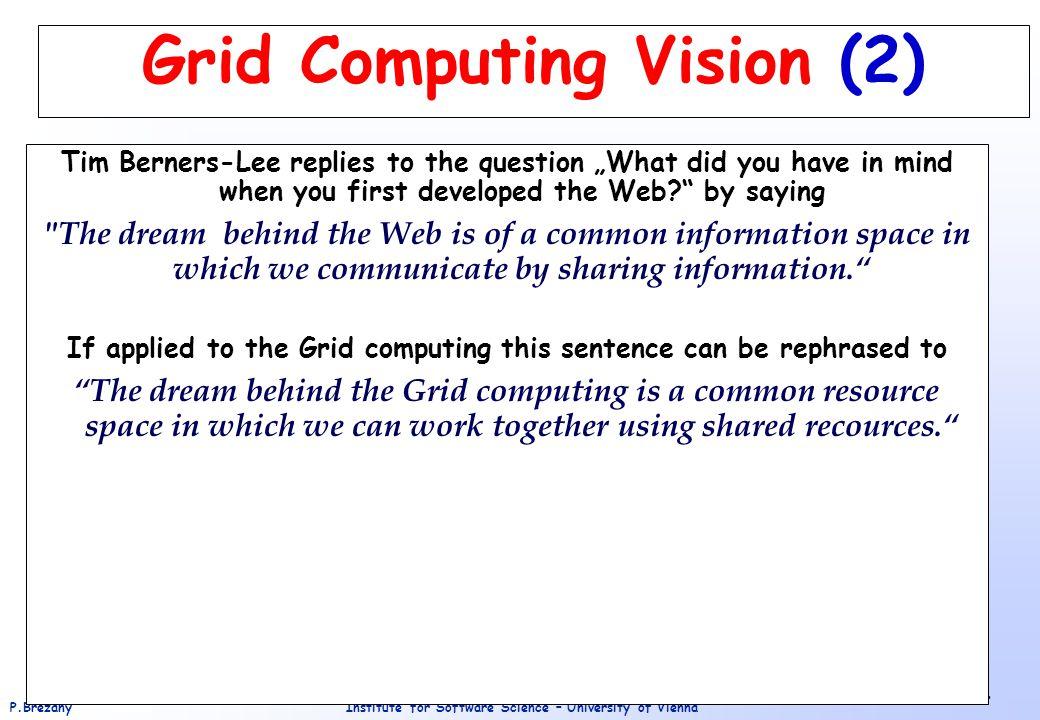 Grid Computing Vision (2)