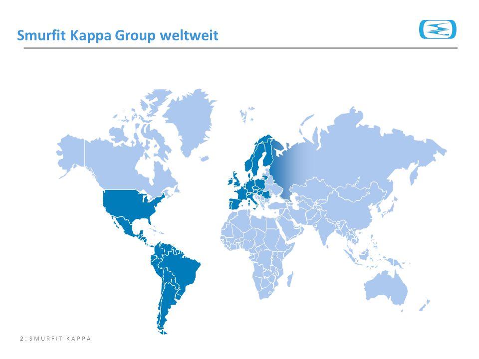 Smurfit Kappa Group weltweit