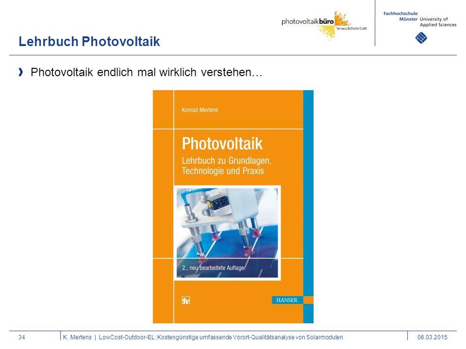Lehrbuch Photovoltaik