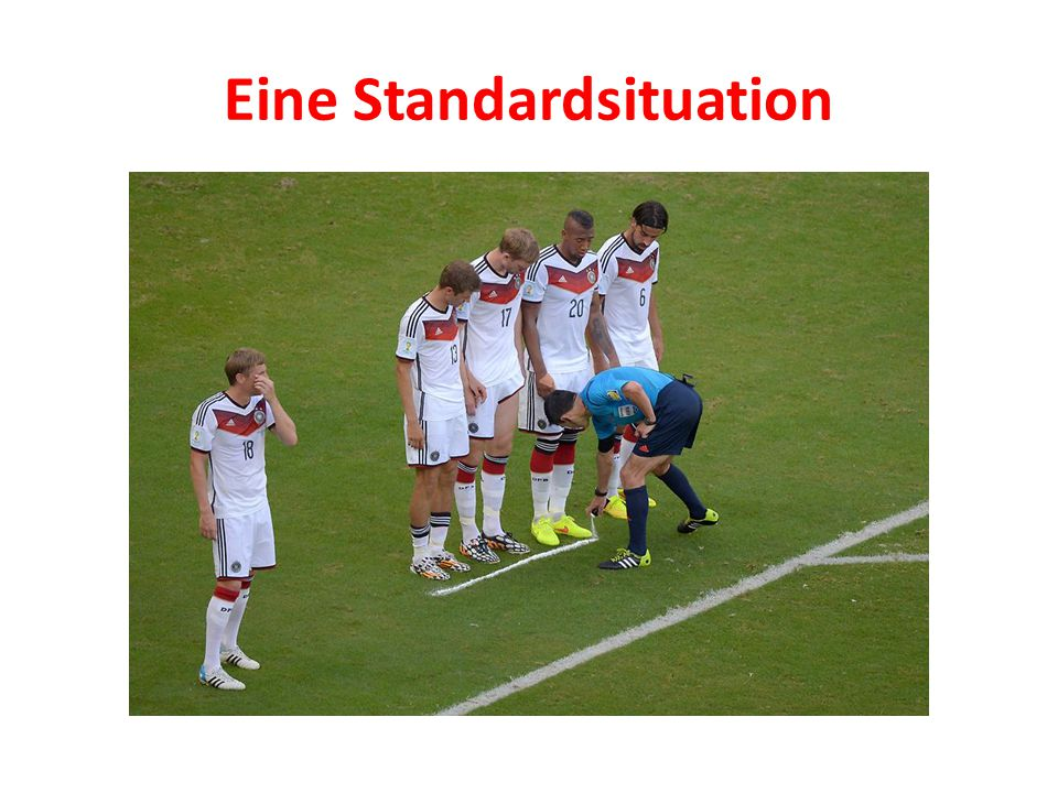 Eine Standardsituation