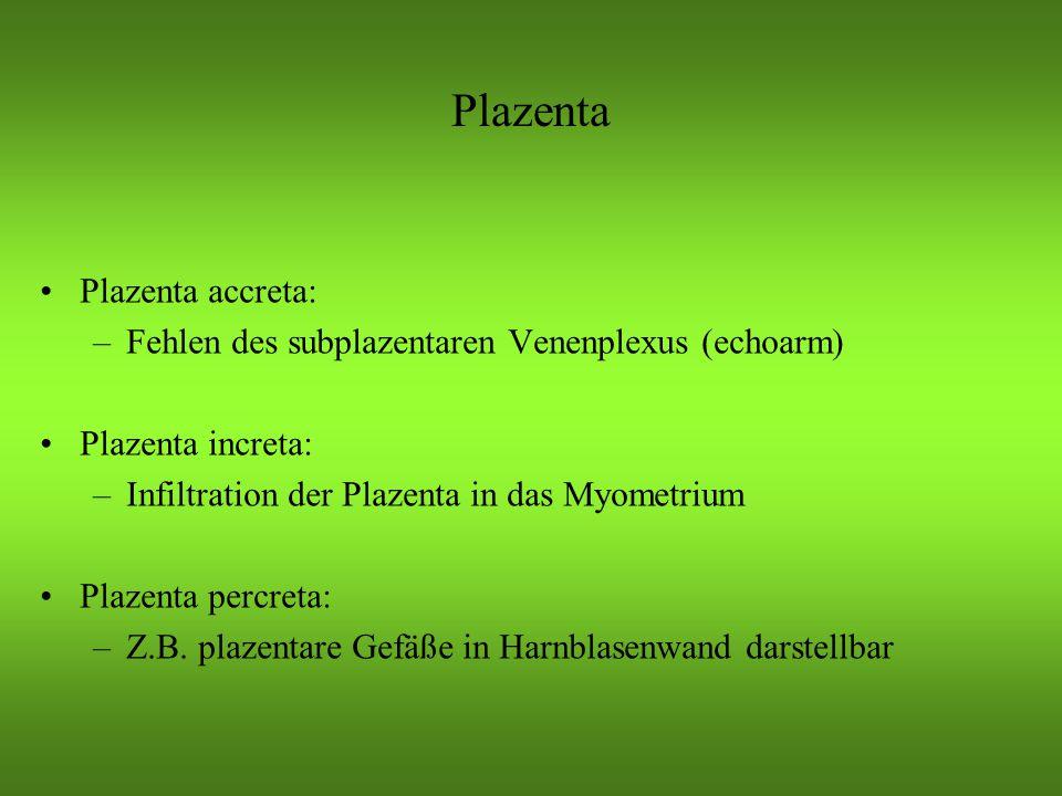 Plazenta Plazenta accreta: