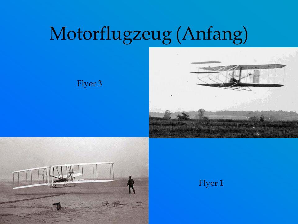 Motorflugzeug (Anfang)