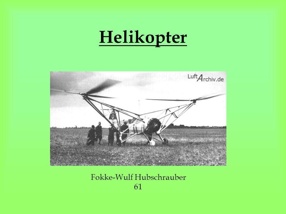 Fokke-Wulf Hubschrauber 61