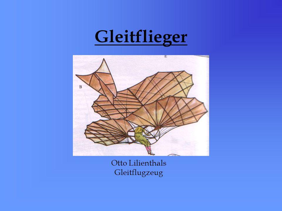 Otto Lilienthals Gleitflugzeug