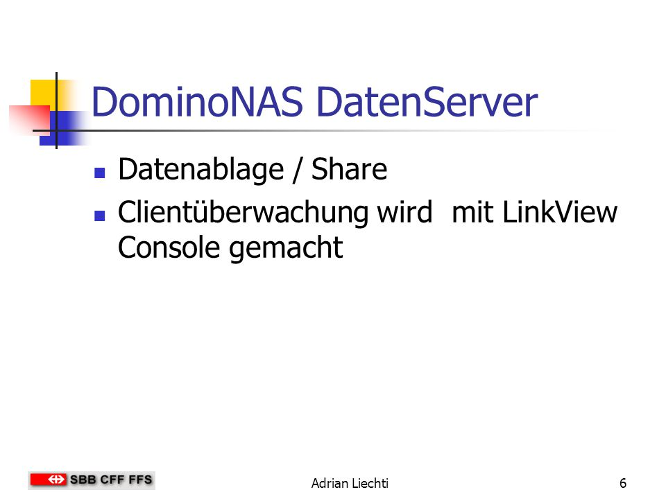 DominoNAS DatenServer