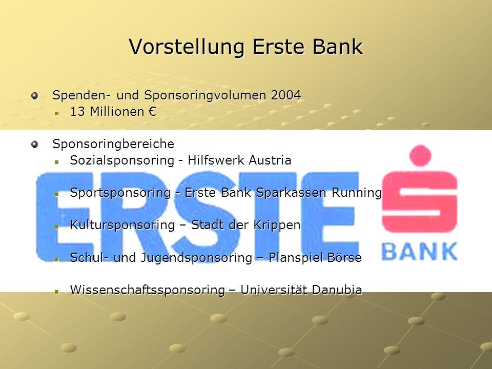 Vorstellung Erste Bank