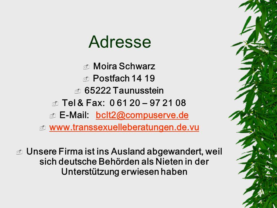 E-Mail: bclt2@compuserve.de