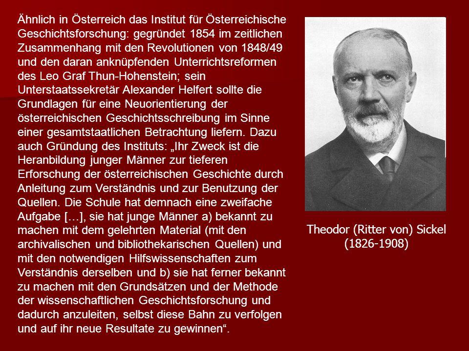 Theodor (Ritter von) Sickel