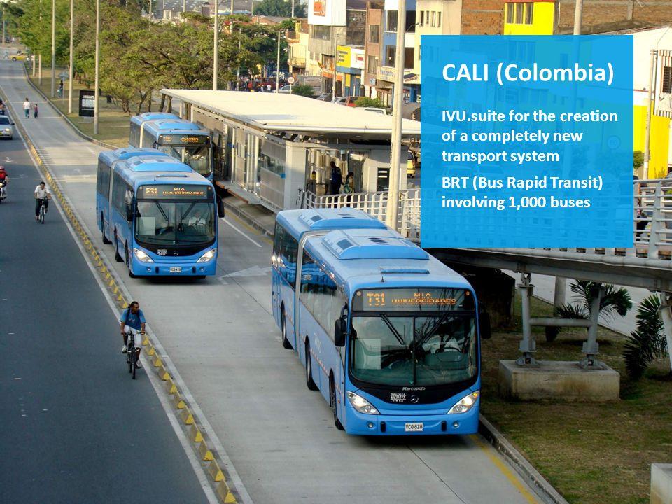 Die IVU.suite im Einsatz z.B. in Kolumbien