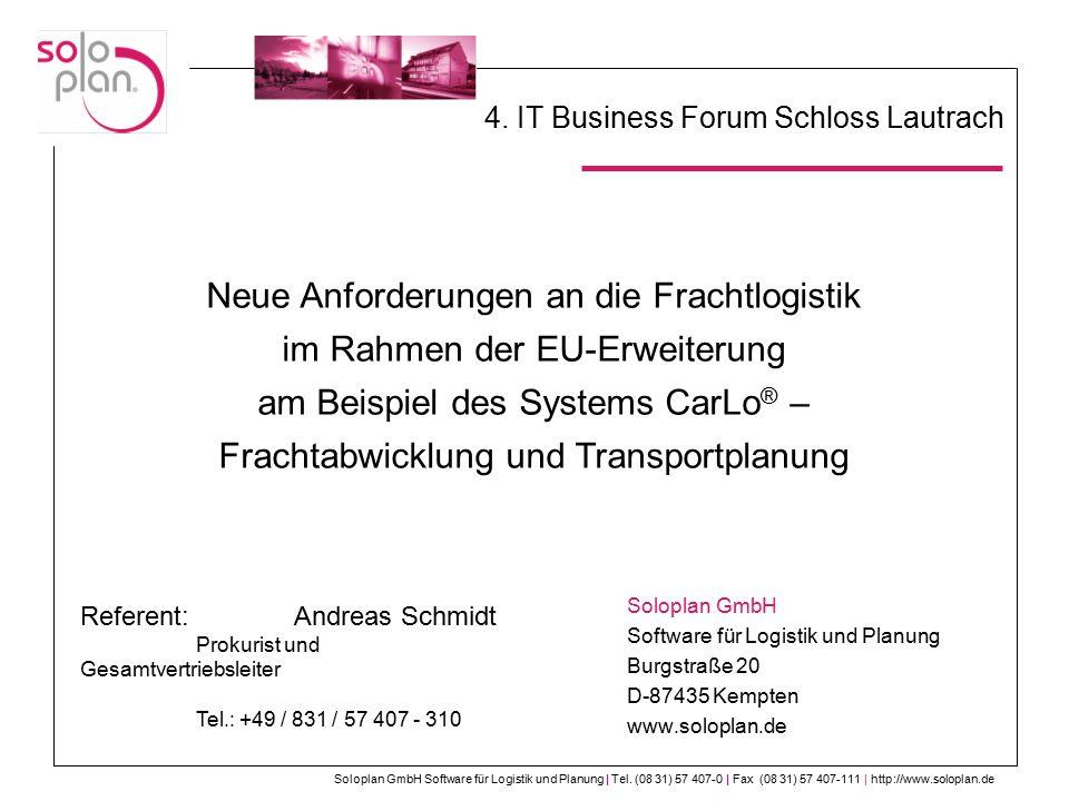 4. IT Business Forum Schloss Lautrach
