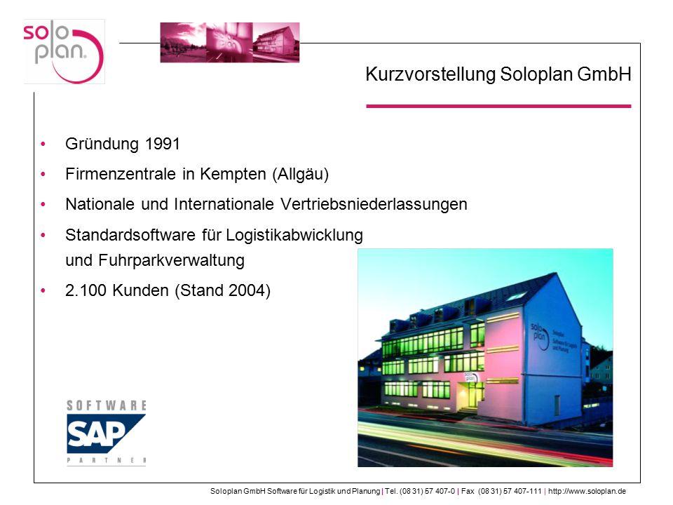 Kurzvorstellung Soloplan GmbH