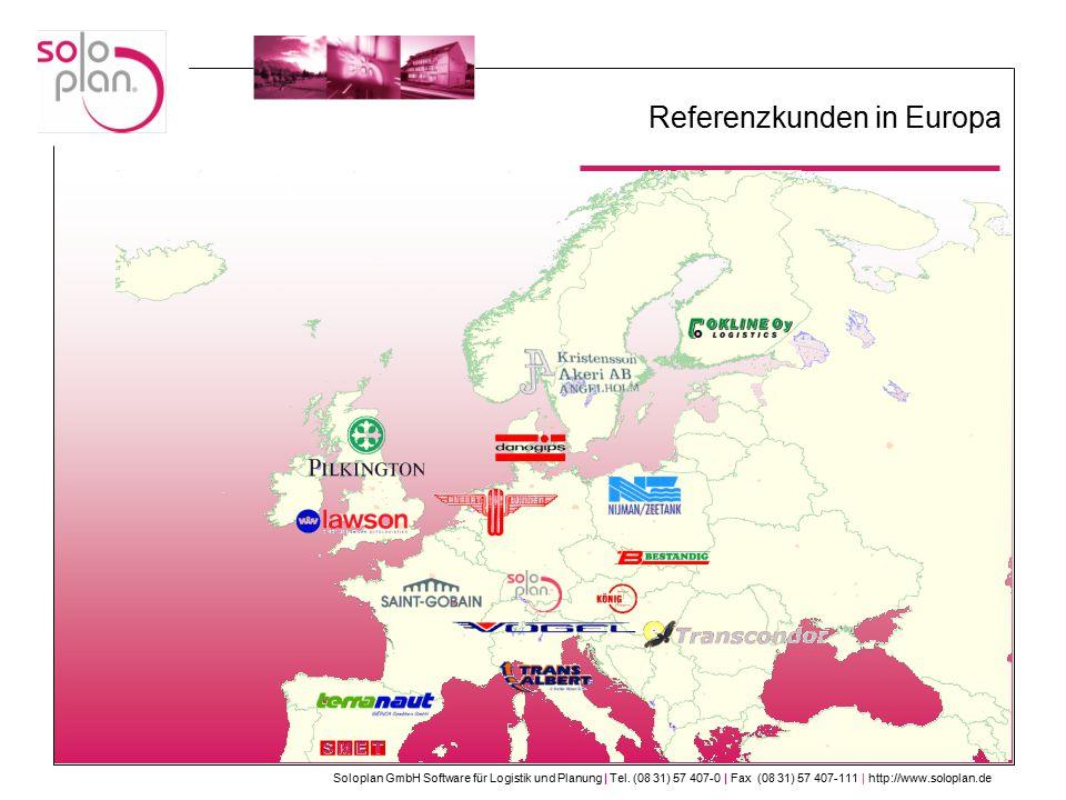 Referenzkunden in Europa